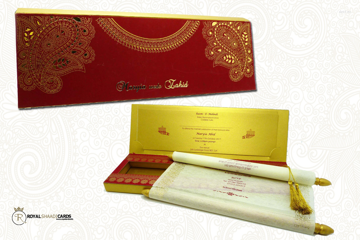 Royal Shaadi Cards and Asian Wedding Cards - Royal Shaadi Cards Bradford