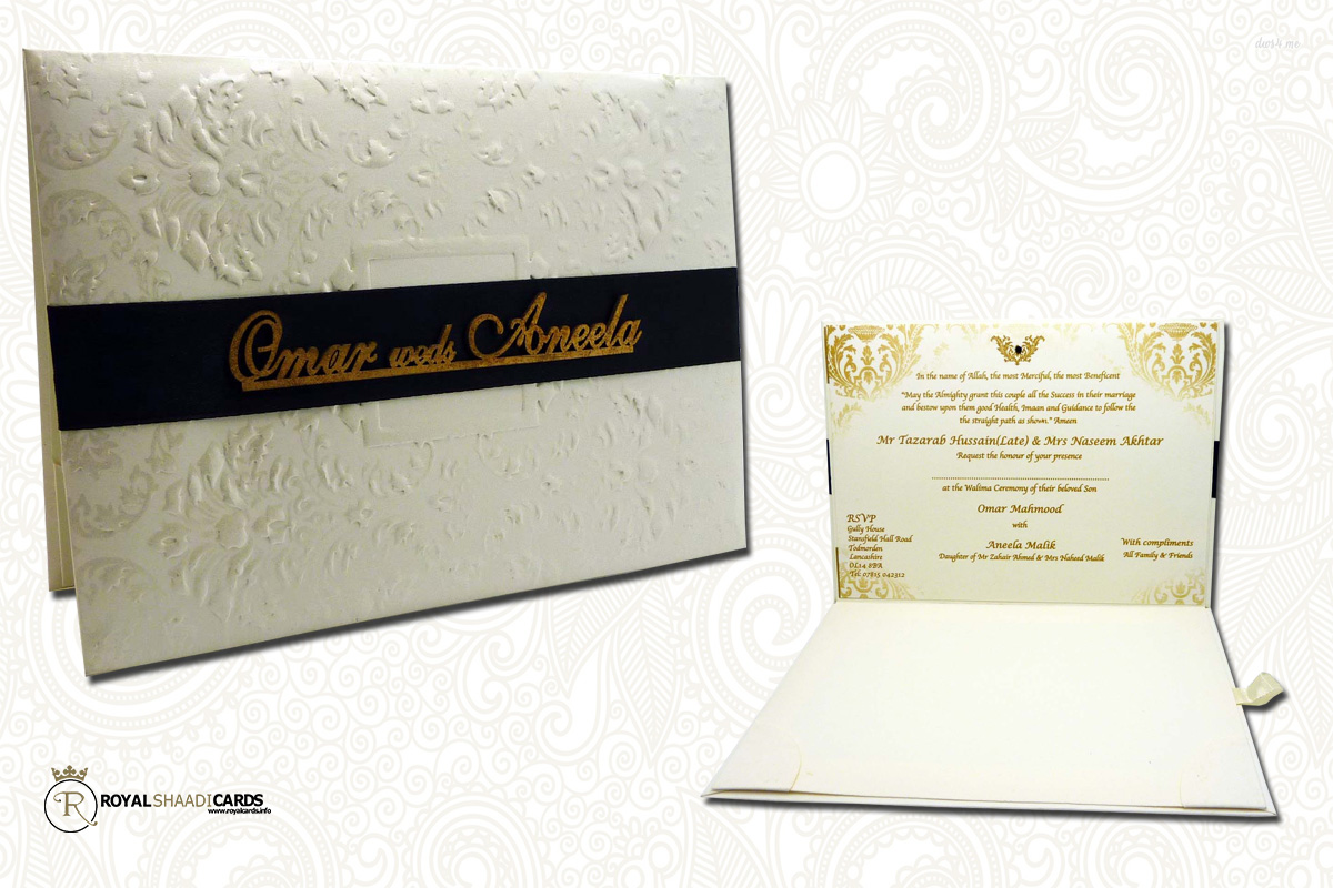 Royal Shaadi Cards and Asian Wedding Cards Royal Shaadi Cards Bradford