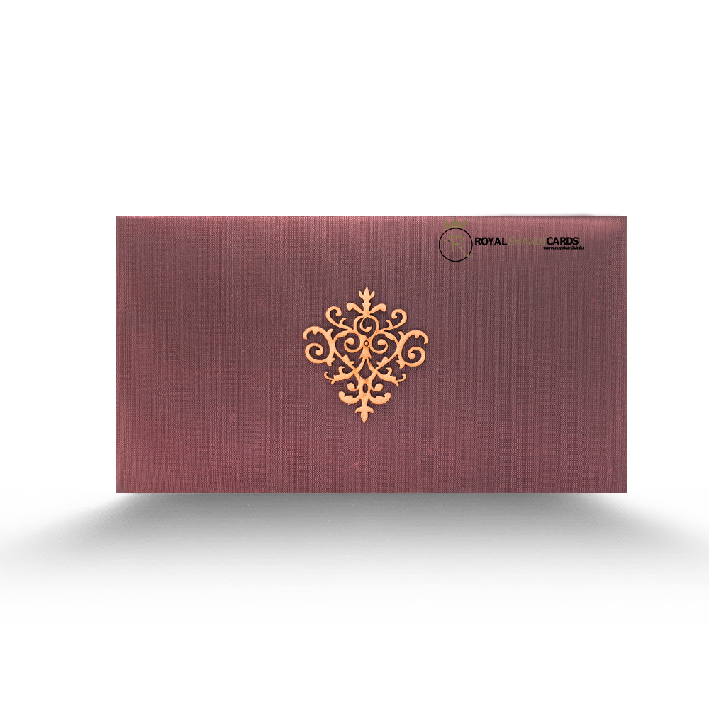 maroon shadi card