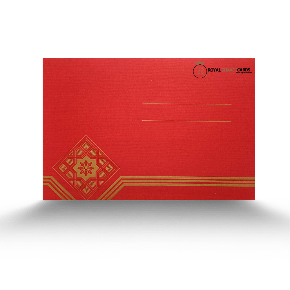 red gold wedding invitations uk